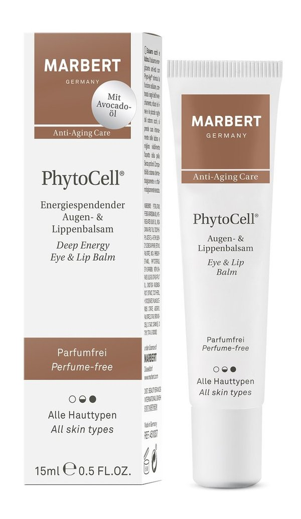 MarbertPhytoCell Deep Energy Eye + Lip Balm 15 ml ( Spender)
