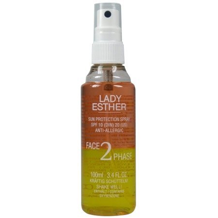 Lady Esther Summer Face 2 Phase SPF 10 Sun Protection Spray 100 ml