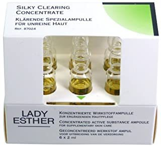 Lady Esther Ampullen Silky Clearning Concetrate für unreine haut 6x2 ml