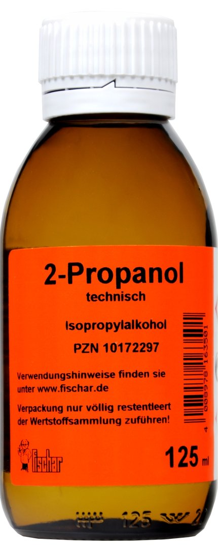 Isopropylalkohol Technisch 99 % Fischar, 125 ml